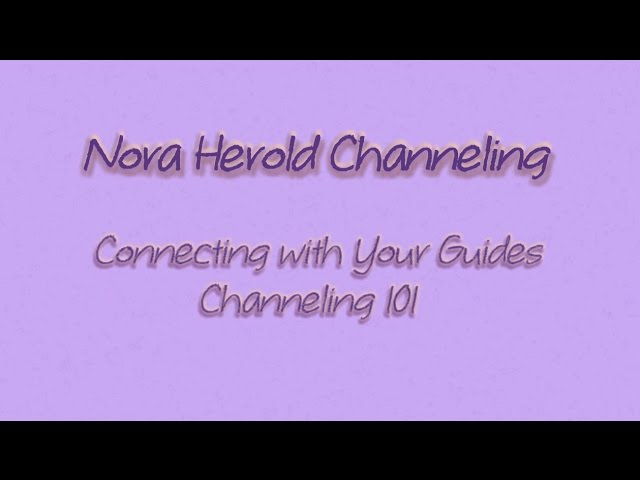 Nora Herold - Pleiadian Channel and Incarnate Guide - Workshops on Video